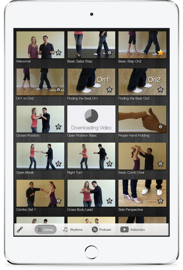 Modernistik Project: Pocket Salsa (ipad-library)