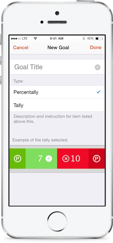 Modernistik Project: Percentally Pro (app-settings)