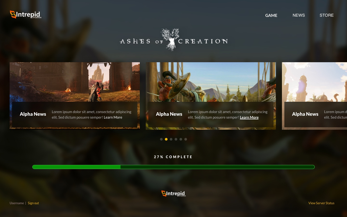 Modernistik Project: Ashes of Creation Game Launcher (ashes-of-creation-2)