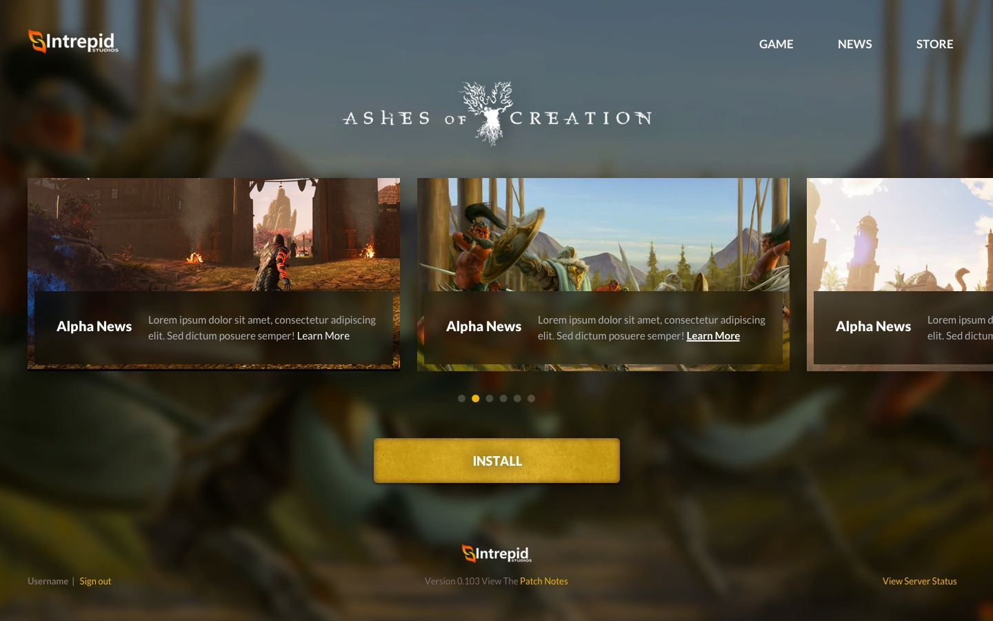 Modernistik Project: Ashes of Creation Game Launcher (ashes-of-creation-3)