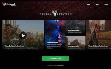 Modernistik Project: Ashes Of Creation Game Launcher
